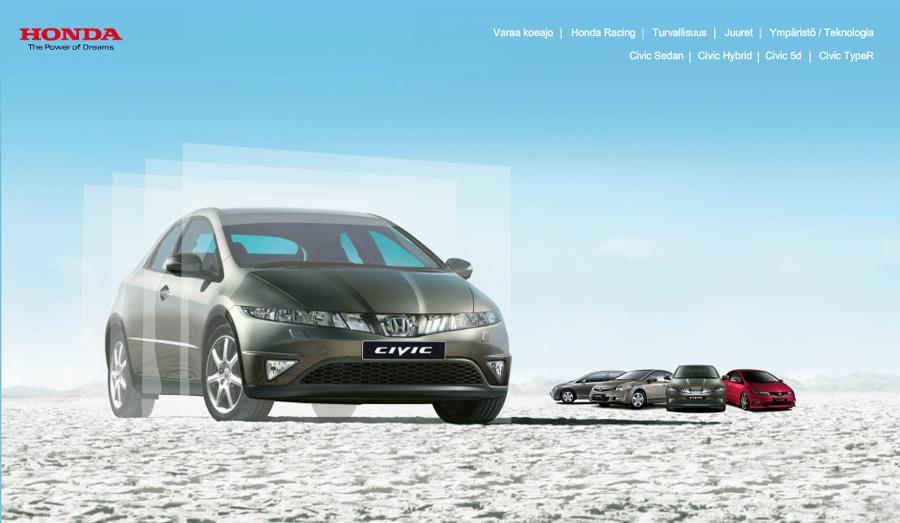 Honda Civic -sivusto