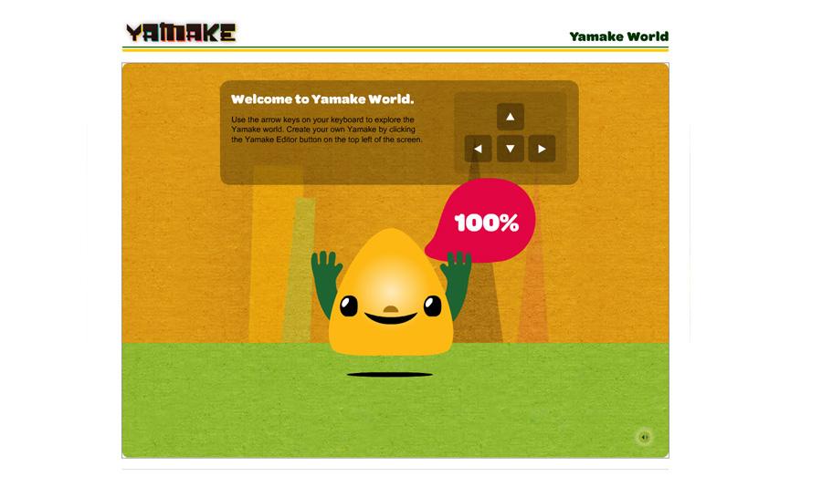 Nokian Yamake taideprojektin verkkopalvelu